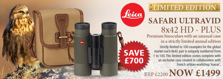 Leica Ultravid 8x42 HD-Plus Binoculars - Safari Special Edition - Green
