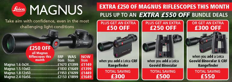 Leica Magnus Riflescope Offer