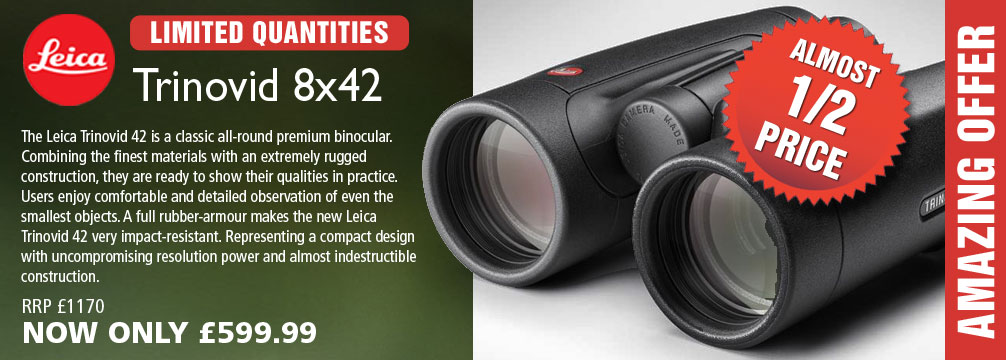 Leica Trinovid 10x42 Binoculars - Black