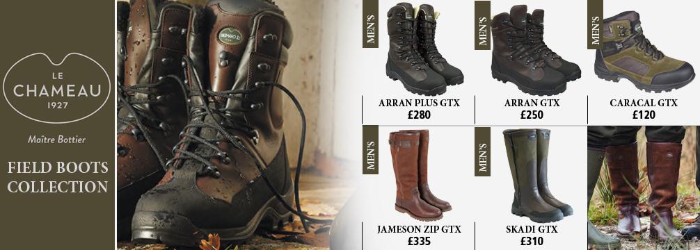 Le Chameau Field Boots