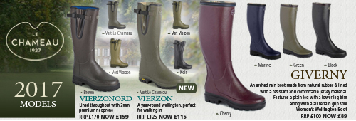 Le Chameau New 2015 Wellington Boots