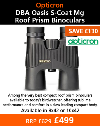 Opticron DBA Oasis S-Coat Mg Roof Prism Binoculars