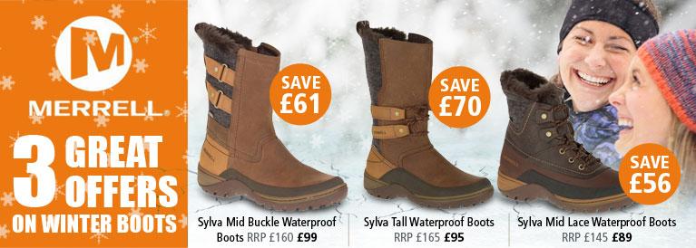 Merrell Winter Boots Offer