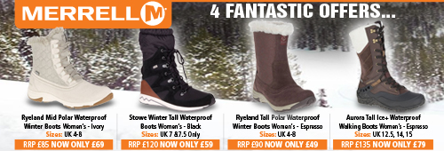 Merrell 4 Fantastic Offers