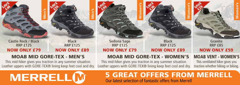 Merrell Special Offers