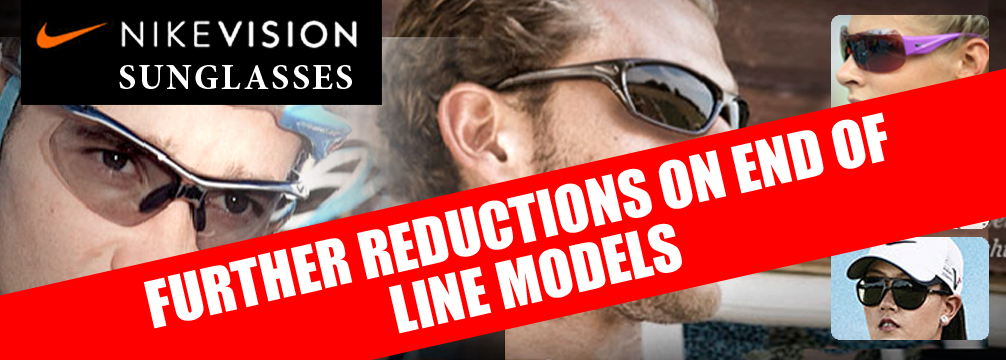 Nike Further Reductions on Sunglasses