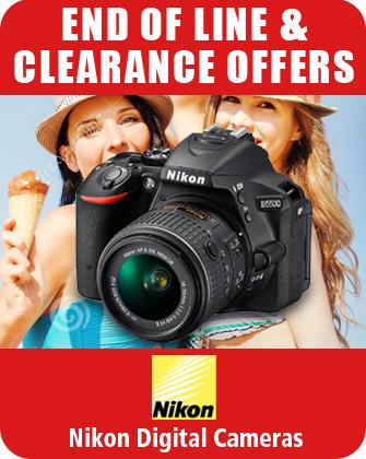 Nikon Digital Cameras End of Line Clearance