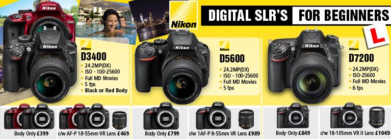 Nikon DSLR's for beginners