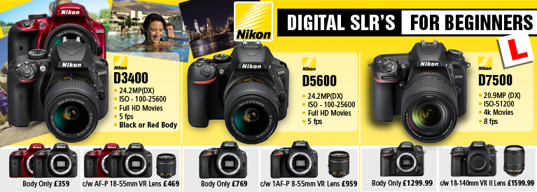 Nikon DSLR's for beginners