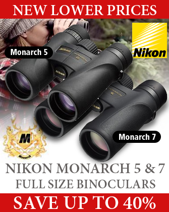 Nikon Monarch 5 and 7 Full Size Binoculars