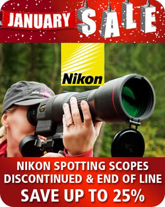 Nikon Spotting Scopes January Sale
