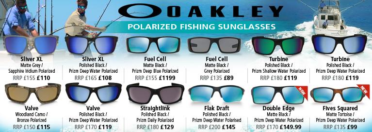 Oakley Polarized Fishing Sunglasses