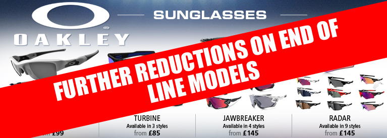 Oakley Further Reductions on Sunglasses