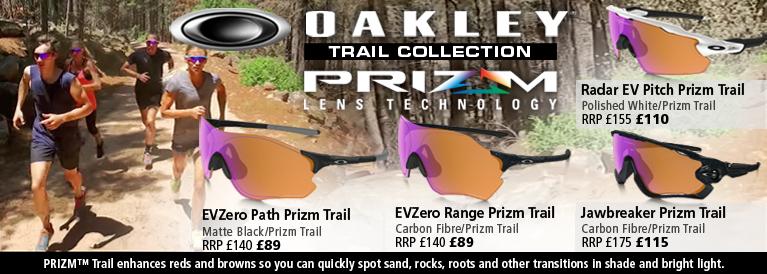 Oakley Prizm Trail Sunglasses Collection