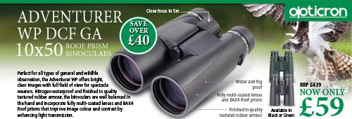 Opticron Adventurer WP 10x50 DCF GA Binoculars