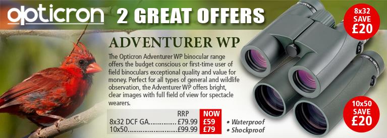 Opticron Adventurer WP Binoculats