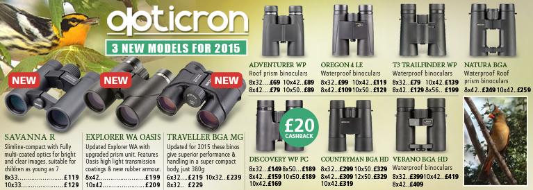 Opticron Binocular Range