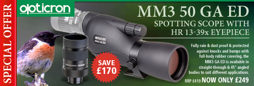 Opticron MM3 50 GA ED Spotting Scope With HR 13-39x Eyepiece