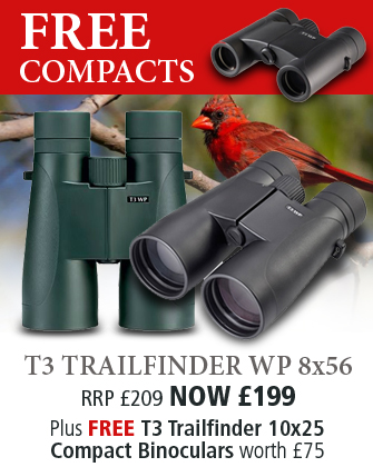 Opticron T3 Trailfinder WP 8x56 Binoculars