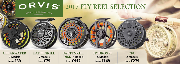 Orvis 2017 Fly Reel Range