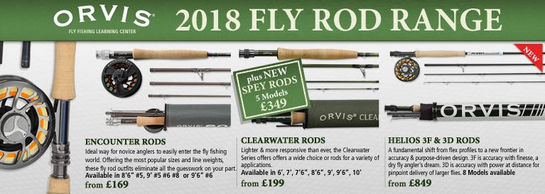 Orvis 2017 Fly Rod Range