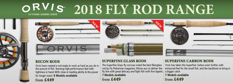 Orvis 2018 Fly Rods