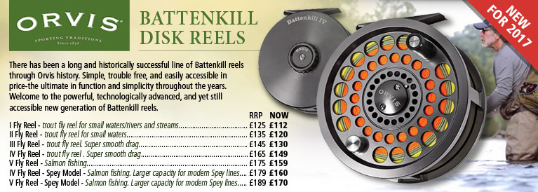 Orvis Battenkill Fishing Reels