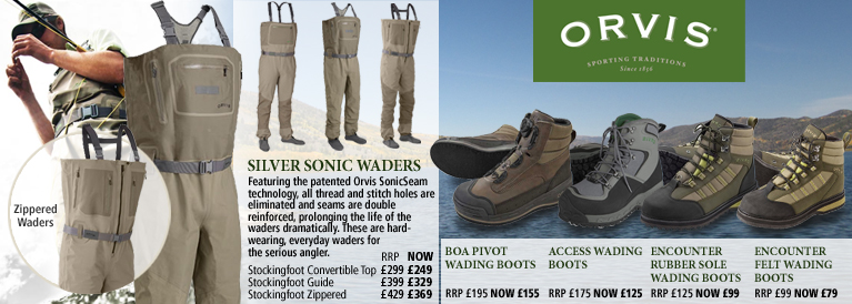 Orvis Silver Sonic Waders and Wading Boots