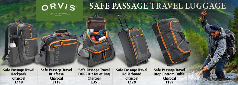 Orvis Safe Passage Travel Luggage