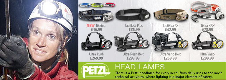 Petzl Head Lamps