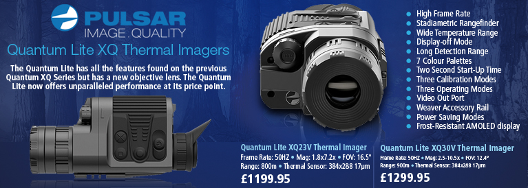 Pulsar Quantum Lite XQ Thermal Imagers