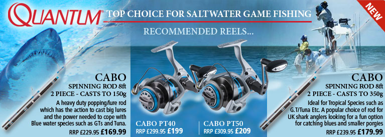 Quantum Cabo Top Choice for Saltwater Game Fishing