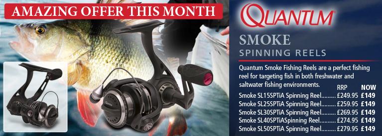 Quantum Smoke Spinning Reels