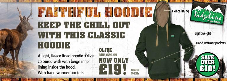 Ridgeline Faithful Hoodie - Olive
