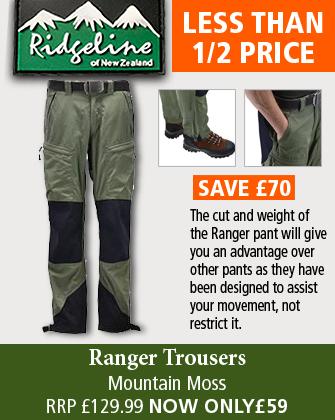 Ridgeline Ranger Trousers - Mountain Moss