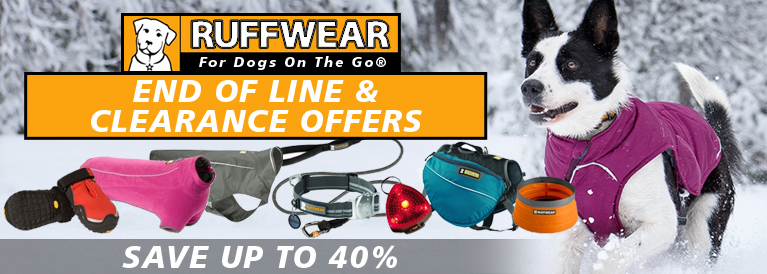 Ruffwear End of Line CLearance