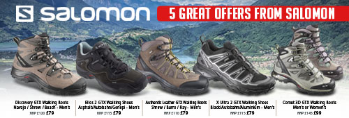 Salomon 5 Great Offers