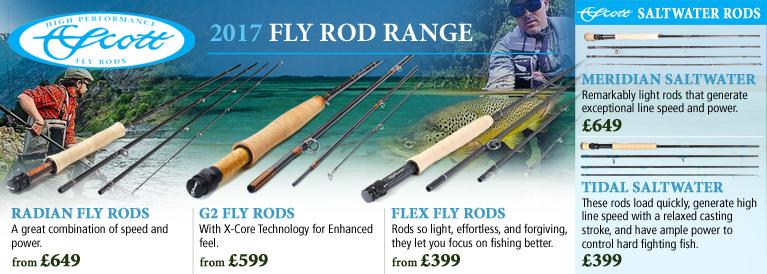 Scott 2017 Fly Rod Range