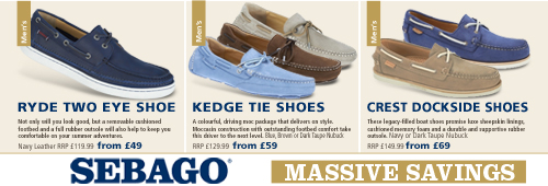 Sebago 6 New Offers