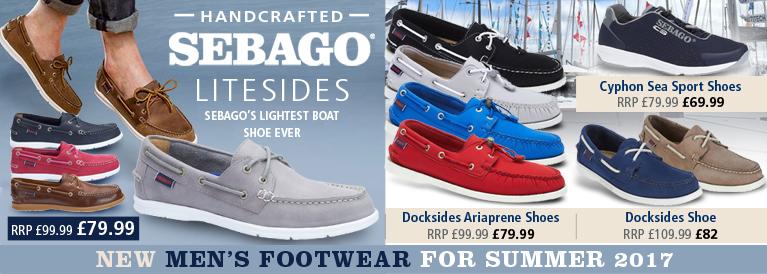 Sebago Mens Footwear