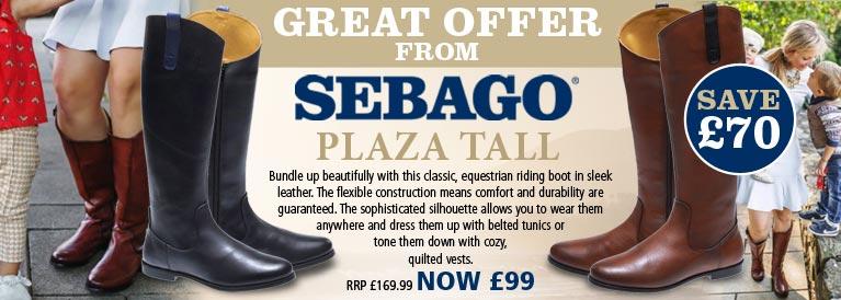 Sebago Plaza Tall Women's Boots
