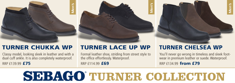 Sebago Turner Collection