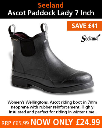 Seeland Ascot Paddock Lady 7 Inch Boots (Women's) - Black