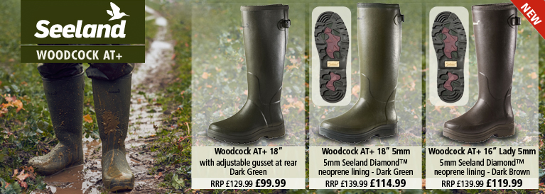 Seeland Woodcock AT Plus Wellington Boots