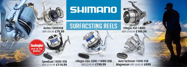 Shimano Surfcasting Reels