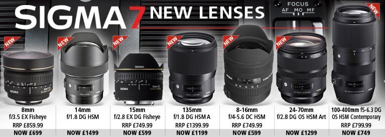 Sigma 7 New Lenses