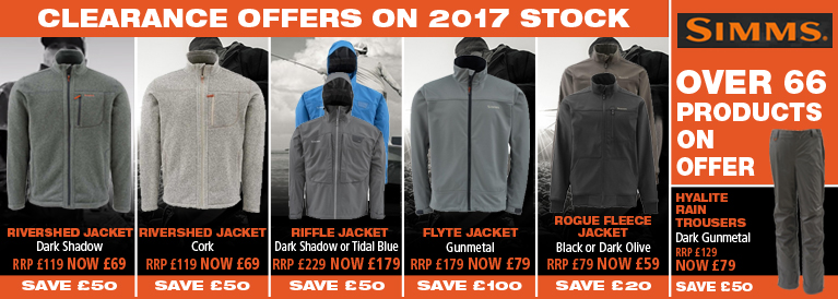 Simms Clothing Special Offers 2015