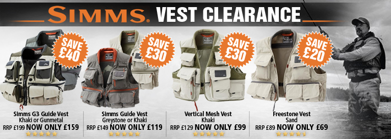 Simms Vest Clearance