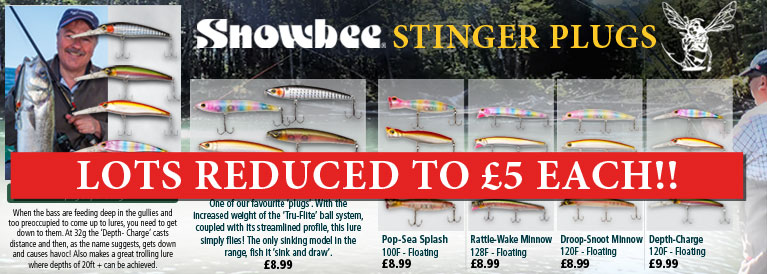 Snowbee Stingers Reduced
