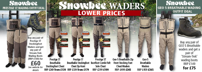 Snowbee Prestige Breathable ST Waders